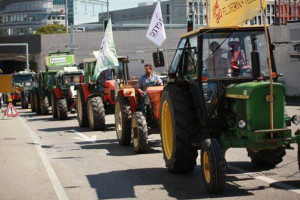 Farmers in Zurich